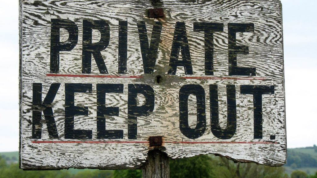 private-keepout